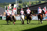 PARADE OF PRIZE HORSES